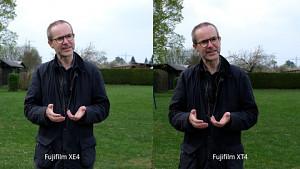 Bildstabilisierung bei Fujifilm X-T4 und X-E4 im Vergleich