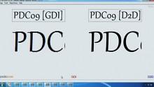 Live-Demonstration vom Internet Explorer 9 auf der PDC 2009
