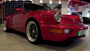 Enthüllung des Elektro-Porsche - Everrati