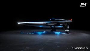 Elektrisches Rennboot Racebird - E1 Series