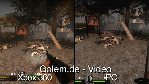 Left 4 Dead 2 - Spielszenen der PC- und Xbox-360-Version