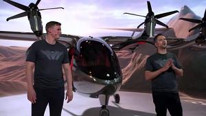 Präsentation des Lufttaxis Maker - Archer