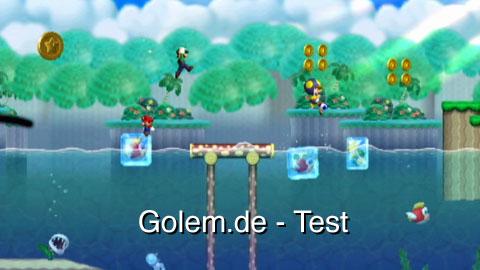 New Super Mario Bros. Wii - Test