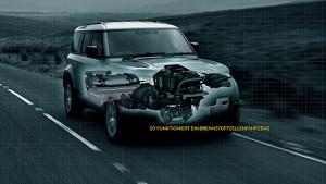 Defender mit Brennstoffzelle - Jaguar Land Rover