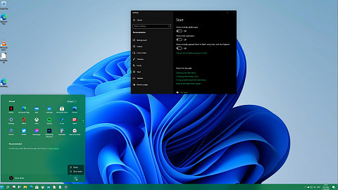 Windows-10-Startmenü in Windows 11 einrichten