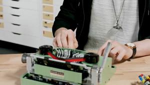 Lego Ideas-Schreibmaschine - Herstellervideo