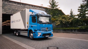 Vorstellung des Lkw eActros - Daimler