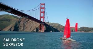 Roboterboot Saildrone Surveyor - Herstellervideo