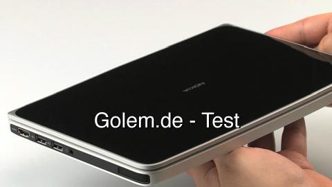Nokia Booklet 3G - Test
