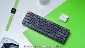 Keychron K7 - Trailer der Low-Profile-Tastatur