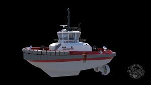 Elektrischer Schlepper eWolf - Crowley Maritime
