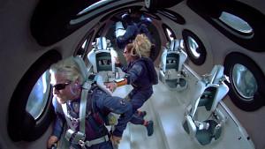 Erstflug von Richard Branson mit Virgin Galactic