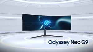 Samsung Odyssey Neo G9 - Teaser des 32-zu-9-Monitors