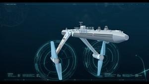 Gezeitenturbine Orbital O2 - Orbital Marine Power