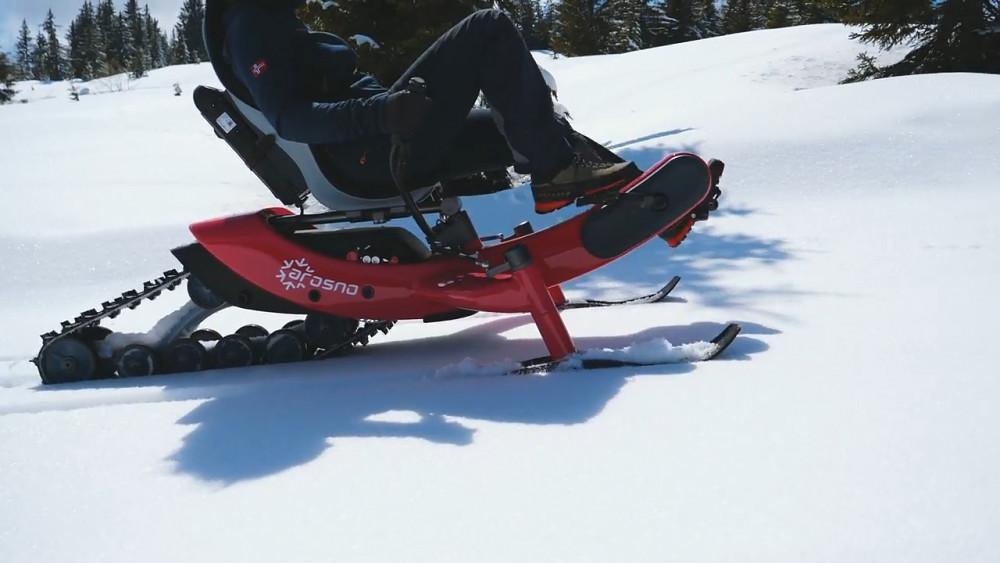 Arosno Schnee-Pedelec (Herstellervideo)