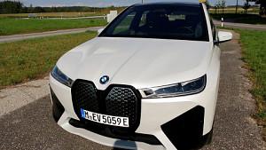 BMW iX Probe gefahren