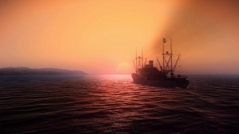 Silent Hunter 5 - Grafikengine-Demo zeigt Wasser und Explosionen