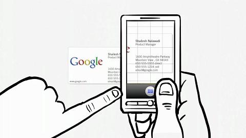 Google erklärt Google Goggles