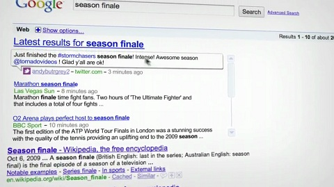 Google Latest Search Results (Echtzeitsuche)