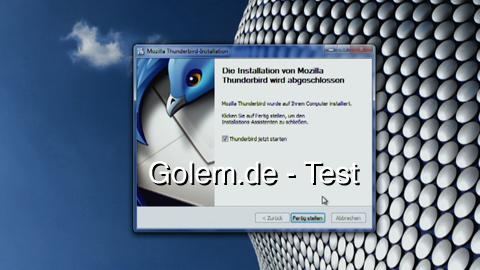 Mozilla Thunderbird 3.0 - angetestet