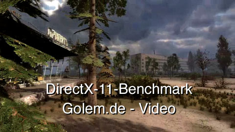 Stalker - Call of Pripyat - Benchmark Sun Shafts in DirectX 11