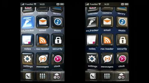Fuse UI - neues Touchinterface für Smartphone