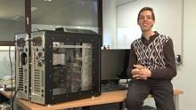 Supercomputer Fastra II an der Universität von Antwerpen