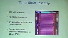 22 nm Process Outlook
