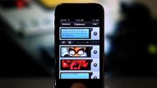 Pastebot für das iPhone