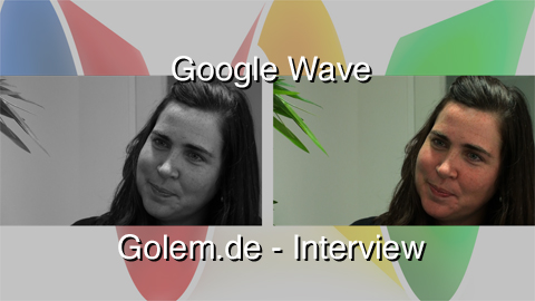 Google Wave - Interview with Stephanie Hannon, Product Manager (english)
