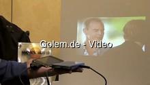 Eindrücke vom Laserprojektor Microvision ShowWX auf der CES 2010