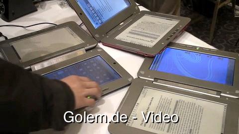 Eindrücke vom Entourage Edge Dualbook auf der CES 2010
