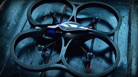 Parrot AR.Drone - Flug-Demonstration