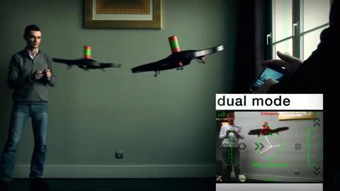 Parrot AR.Drone - Spieledemo