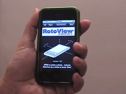 Rotoview für iPhone