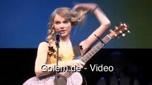 Taylor-Swift-Live-Performance in 3D auf der CES 2010 im Rahmen der Sony-Pressekonferenz