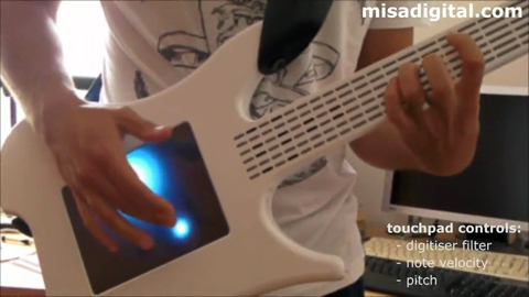 Digitale Gitarre von Misa - Demonstration