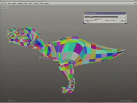 Texturen für 3D Models mit Ptex von Walt Disney Animation Studios - Demo