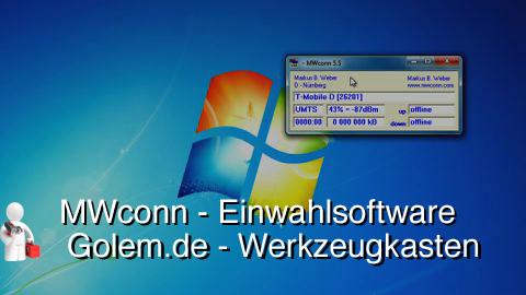 Golem.de - Werkzeugkasten - MWConn