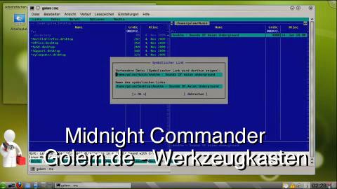 Golem.de - Werkzeugkasten - Midnight Commander