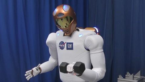 Robonaut 2 - Nasa und GM entwickeln humanoiden Roboter