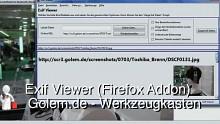 Golem.de - Werkzeugkasten - Exif Viewer (Firefox-Addon)