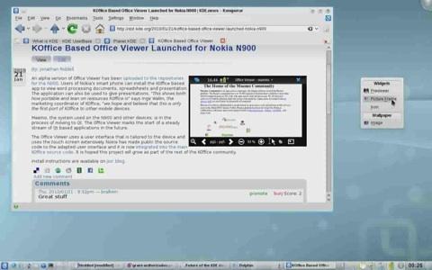 KDE Software Compilation 4.4 - Neuerungen bei Plasma
