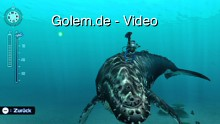 Endless Ocean 2 - Spielszenen der Tauchgänge von Golem.de