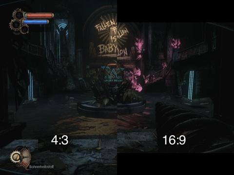 Widescreen-Bug in der PC-Version von Bioshock 2