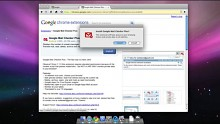 Google zeigt Google-Chrome-Beta 5.0.307.7 für Mac OS X