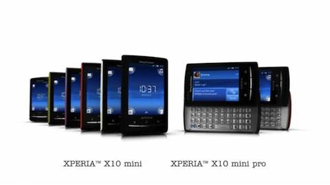Sony Ericsson Xperia X10 mini und X10 mini pro - Trailer vom Mobile World Congress 2010