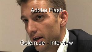 Adrian Ludwig, Flash Group Manager von Adobe im Interview über Flash auf dem iPhone und Vorzüge gegenüber HTML5