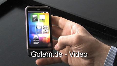 Präsentation von HTC Desire und Legend auf dem Mobile World Congress 2010