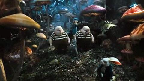 Alice im Wunderland mit Johnny Depp - Kinotrailer